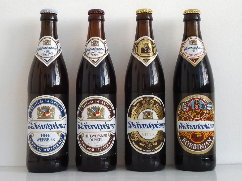 Пиво древнейшей пивоварни при монастыре Weihenstephan